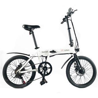Bicicleta Elétrica SK8 Urban Nomad Branco