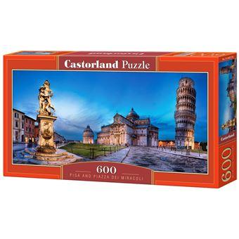 Puzzle Castorland Pisa and Piazza dei Miracoli 600 Peças