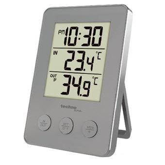 Estações meteorológicas digitais Technoline WS 9175 Prateado Bateria