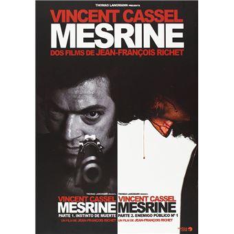 Mesrine: L'instinct de mort + Mesrine: L'Ennemi public n°1 / Mesrine Parte 1 + Parte 2 (2DVD)