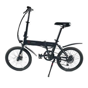 Bicicleta Elétrica SK8 Urban Nomad Preto