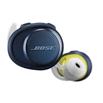Auriculares Bose SoundSport Free Azul, Branco, Amarelo