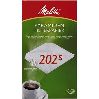 Melitta 4024472145768 filtro para café Copo Filtro de café descartável Branco 100 peça(s)