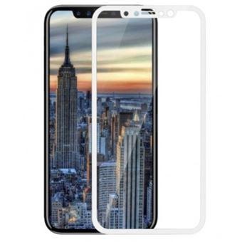 Película Ecrã de Vidro Temperado Lmobile 5D Full Cover para iPhone X Branco