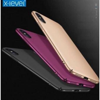 Capa Lmobile X-Level Knight para iPhone X / Xs Vermelho