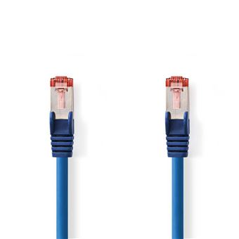 cabo de rede Nedis CCGP85221BU05  0,5 m Cat6 S/FTP (S-STP) Blue