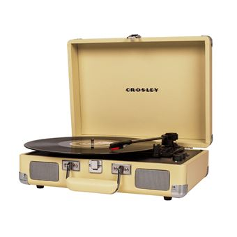 Gira-Discos Portátil Crosley Cruiser Deluxe - Fulvo