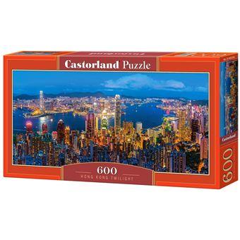 Puzzle Castorland Hong Kong Twilight 600 Peças