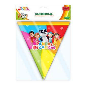 Bandeiras Panda e Caricas