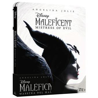 Maleficent: Mistress of Evil / Maléfica Maestra del Mal Steelbook (Blu-ray)