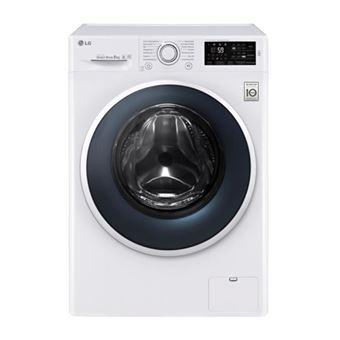 Máquina de Lavar Roupa LG F14WM8EN0 Isolado Carregamento frontal 8kg 1400RPM A+++ Branco