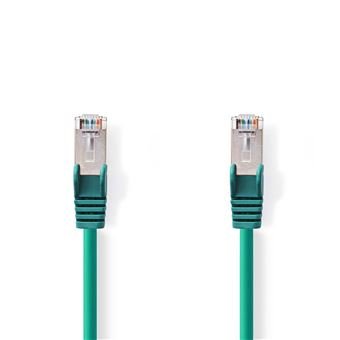 cabo de rede Nedis CCGP85221GN05  0,5 m Cat6 S/FTP (S-STP) Verde