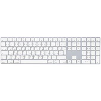 Teclado Wireless Apple MQ052AB/A Branco