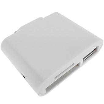 Adaptador BeMatik para iPad/Periféricos USB e Leitor de Cartão de Memória Apple 30Pin