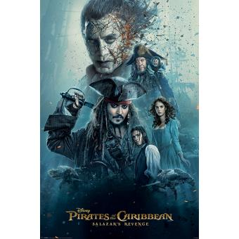 Poster em Tubo GB Posters Pirates of the Caribbean Burning 61 x 91,5 cm