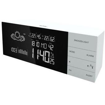 Estações meteorológicas digitais Technoline WS 6870 estação meteorológica digital Branco LCD Bateria