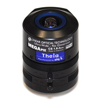 Axis Theia Varifocal Ultra Wide Lens Objetiva ultra ampla Preto