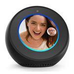 Colunas Smart Assistant Amazon Echo Spot Preto Smart Home Hub + Screen