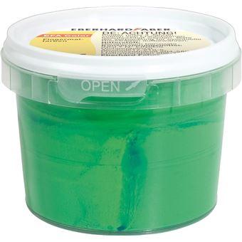 Tinta lavável para pintar com dedos eberhard faber efacolor verde