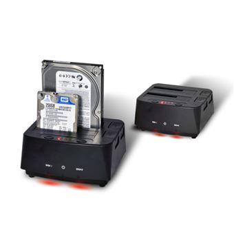 "Advance Controlador de memória Suza Advance DUAL EASY DOCKING BX-D3002U3 - 2.5""/3.5"" partilhado | SATA-150 | 150 MBps | SuperSpeed USB 3.0"
