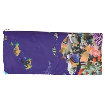 Easy Camp Image Kids Aquarium Rectangular sleeping bag Poliéster Multi cor