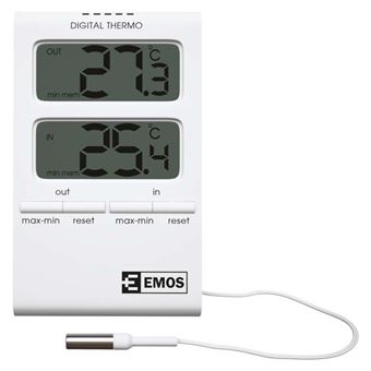 Emos E2100 Indoor/ outdoor Termómetro ambiente eletrónico Branco