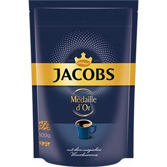 Jacobs Médaille d'Or café instantâneo 100 g Pasta/sacola