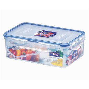 Caixa de armazenamento de comida Lock & Lock HPL817  Retangular 1 l Azul, Transparente 1 peça(s)