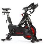 Bicicleta Estática de Spinning Profissional MX55 - Preto e Vermelho