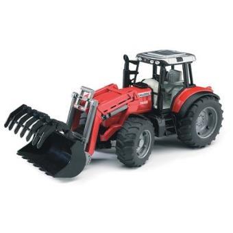 Tractor Massey Ferguson 7480 com pá dianteira