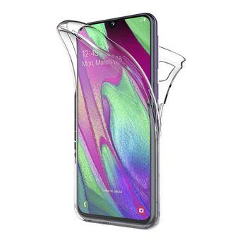 Capa 360º dmobile para Samsung Galaxy A40 | Frente e Verso | Dupla | Silicone / Gel
