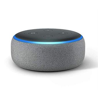 Assistente Virtual Amazon Echo Dot Cinzento