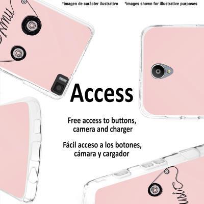 0b7d36ab7c0 Capa Woowcase para iPhone 7 Plus Gel Silicone Fita de Música Transparente  Mate - Bolsa Telemóvel - Compra na Fnac.pt