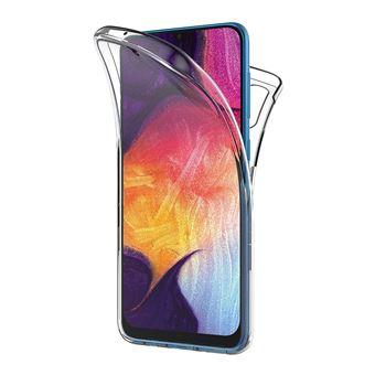 Capa 360º dmobile para Samsung Galaxy A50   Frente e Verso   Dupla   Silicone / Gel