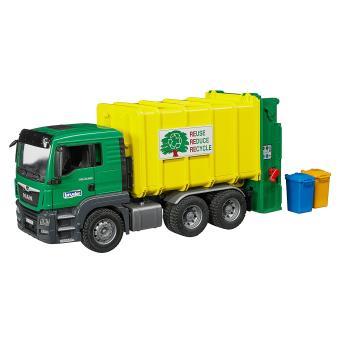 Camião do lixo BRUDER 03764 Acrilonitrila butadieno estireno (ABS) Multi cor