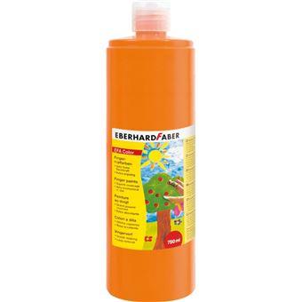 Tinta lavável para pintar com dedos eberhard faber efacolor laranja