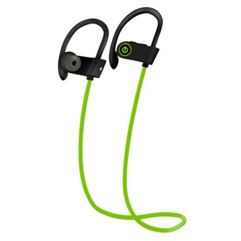 Auriculares Bluetooth wireless Arzopa U8 TWS verde