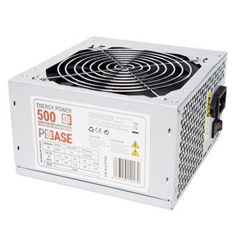 fonte de alimentação PCCASE EP-500  500 W ATX Prateado