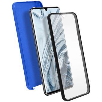 Capa de Proteção Avizar para Xiaomi Mi Note 10 /10 Pro | Proteção Retaguarda e Frente Suave - Azul