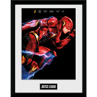 Poster Emoldurado Justice League Movie Flash | 30.5x41cm