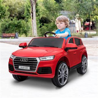 Carro Elétrico Infantil HomCom   3-8 Anos   Audi Q5 - Vermelho