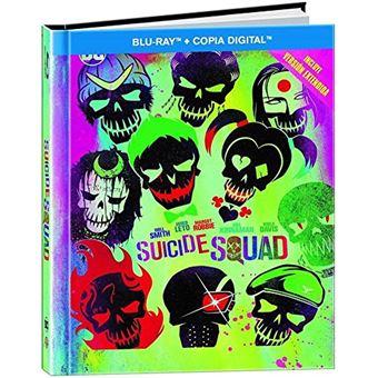 Suicide Squad Extended Version (Digibook) / Escuadon Suicida (2Blu-ray)