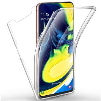 Capa 360º dmobile para Samsung Galaxy A80   Frente e Verso   Dupla   Silicone / Gel