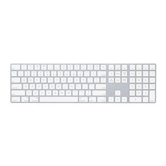 Teclado Wireless Apple MQ052Z/A Branco