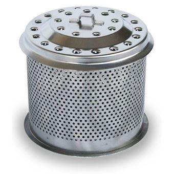 Acessório para churasqueira/grelhador ao ar livre lotusgrill g-hb3-d115 cesto para carvão