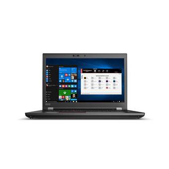 """Portátil Lenovo P72 i7 SSD 256GB 17.3"""" Preto"""