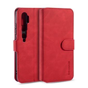 Capa Magunivers | PU + TPU Estilo retrô com apoio Vermelho para Xiaomi Mi Note 10/Note 10 Pro