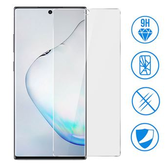 Protetor de Ecrã Avizar para Samsung Galaxy Note 10 Plus Vidro Temperado Dureza 9H Transparente