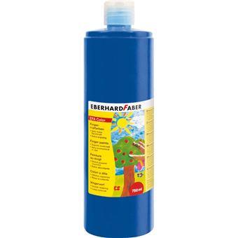 Tinta lavável para pintar com dedos eberhard faber efacolor azul