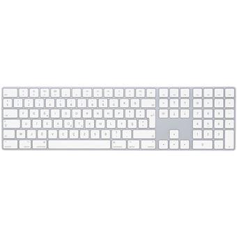 Teclado Wireless Apple MQ052TX/A Branco